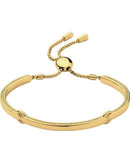 Narrative 18ct Gold Vermeil Bracelet
