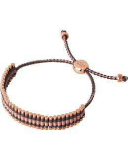 18ct Rose Gold-plated Friendship Bracelet