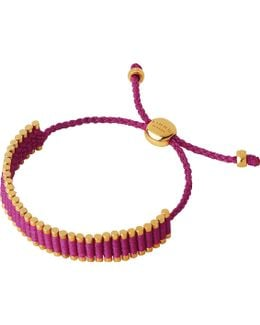 18ct Rose Gold Vermeil Mini Friendship Bracelet
