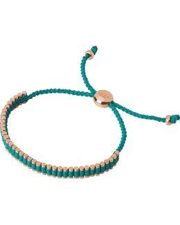 18ct Rose Gold-plated Mini Friendship Bracelet