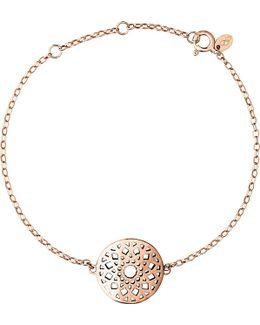Timeless 18ct Rose-gold Vermeil Bracelet