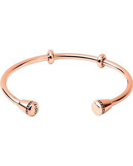Narrative 18ct Rose-gold Vermeil Charm Cuff