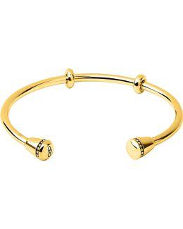 Narrative 18ct Gold Vermeil Charm Cuff