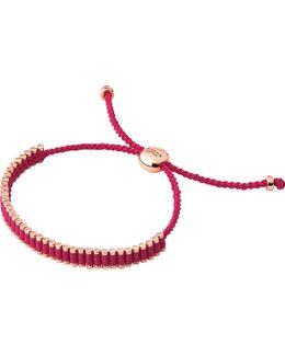 18ct Rose Gold Vermeil Mini Friendship Bracelet