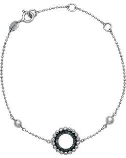 Effervescence Sterling Silver And Diamond Bracelet