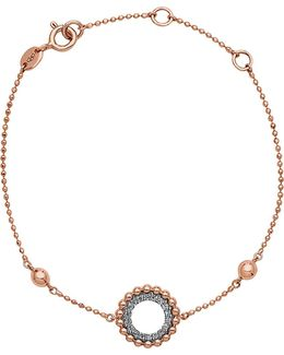 Effervescence 18ct Rose Gold And Diamond Bracelet