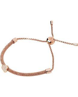 Starlight 18ct Rose-gold Vermeil And Sapphire Round Bracelet