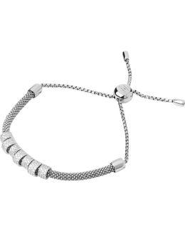 Starlight Sterling Silver And Sapphire Coronet Bracelet