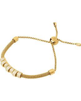 Starlight 18ct Yellow-gold Vermeil And Sapphire Coronet Bracelet
