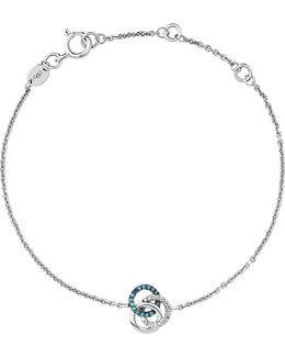 Treasured Sterling Silver And Diamond Bracelet