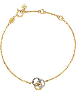 Treasured 18ct Yellow-gold And Diamond Bracelet