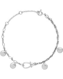Amulet Carabiner Sterling Silver Bracelet