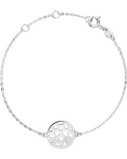 Timeless Silver And Diamond Bracelet