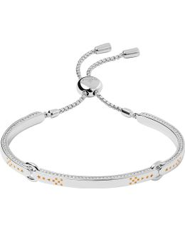 Ascot Silver & Gold Vermeil Bracelet