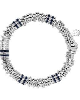 Sterling Silver & Blue Sweetie Bracelet