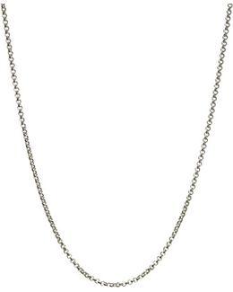 Mini Belcher Sterling Silver Chain 61cm