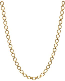 Essentials 18ct Yellow-gold Classic Chain