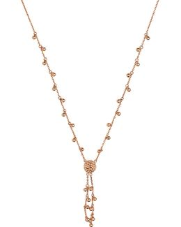 Effervescence Bubble 18ct Rose-gold Necklace