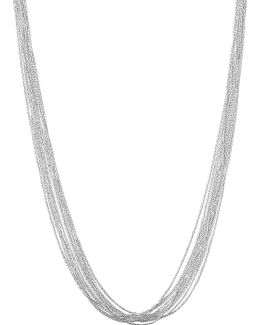 Silk 10 Row Necklace