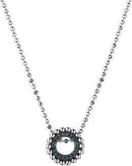 Effervescence Sterling Silver And Diamond Necklace