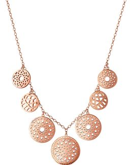 Timeless 18ct Rose-gold Vermeil Coin Necklace