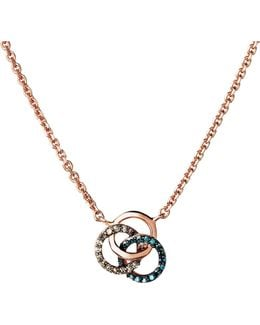 Treasured 18ct Rose-gold And Diamond Necklace