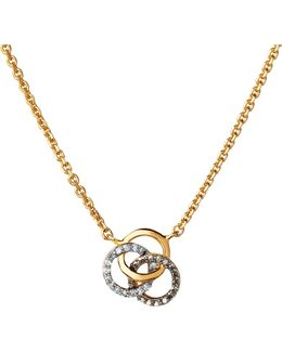 Treasured 18ct Yellow Gold And Diamond Necklace