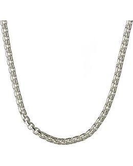 Sterling Silver Box Belcher Chain