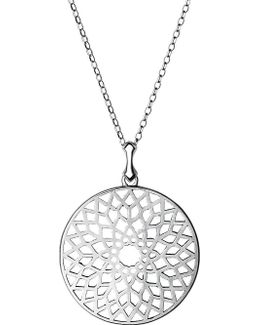Timeless Cut-out Sterling Silver Necklace