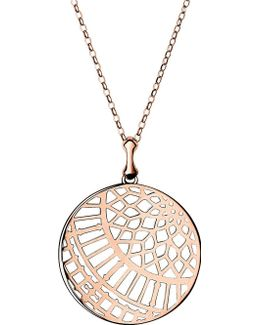 Timeless 18ct Rose-gold Vermeil Arch Necklace