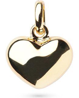 18-carat Gold Heart Charm