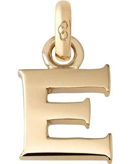 E 18ct Yellow Gold Charm
