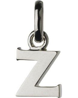 Alphabet Z Sterling Silver Charm