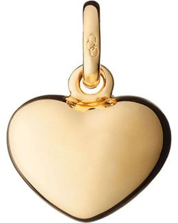 Heart 18ct Yellow-gold Charm