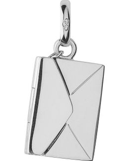 Sealed With A Kiss Envelope Sterling Silver Charm