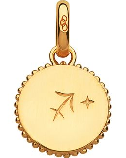 Sagittarius 18ct Yellow-gold Zodiac Charm