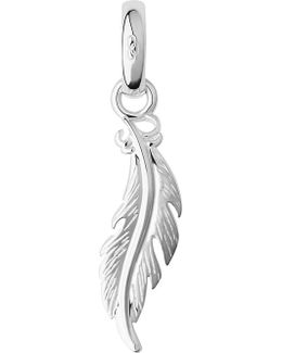Sterling Silver Feather Charm