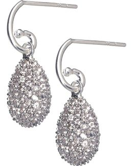 Hope Egg White Topaz Earrings