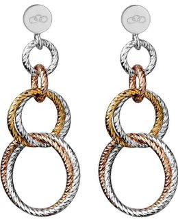 Aurora Double Link Earrings