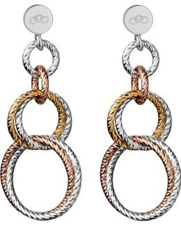 Aurora Double Link Earrings