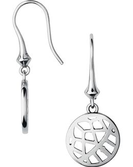 Timeless Sterling Silver Drop Earrings