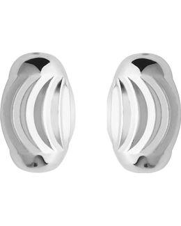 Essentials Sterling Silver Beaded Stud Earrings