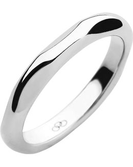 20/20 Sterling Silver Band Ring