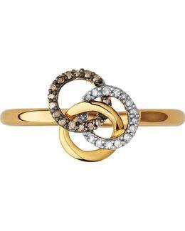 Treasured 18ct Gold & Diamond Ring