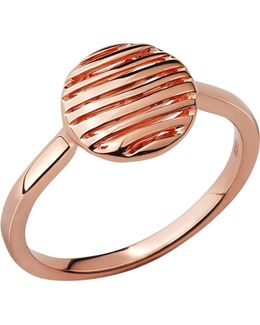 Thames 18ct Rose-gold Vermeil Ring