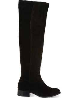 Whit Knee-high Boots