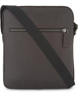Embossed Leather Cross-body Bag