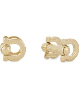 Double Gancho Movable Buckle Cufflinks