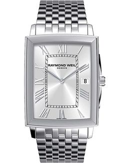 Tradition Men's Stainless Steel Bracelet Watch
