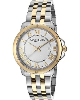 5591-stp-00308 Tango Stainless Steel Gold-plated Watch